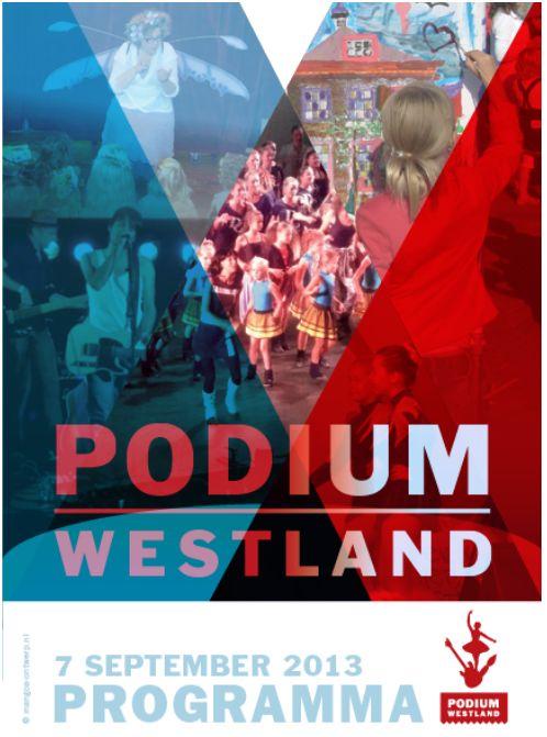 Programma Podium Westland bekend